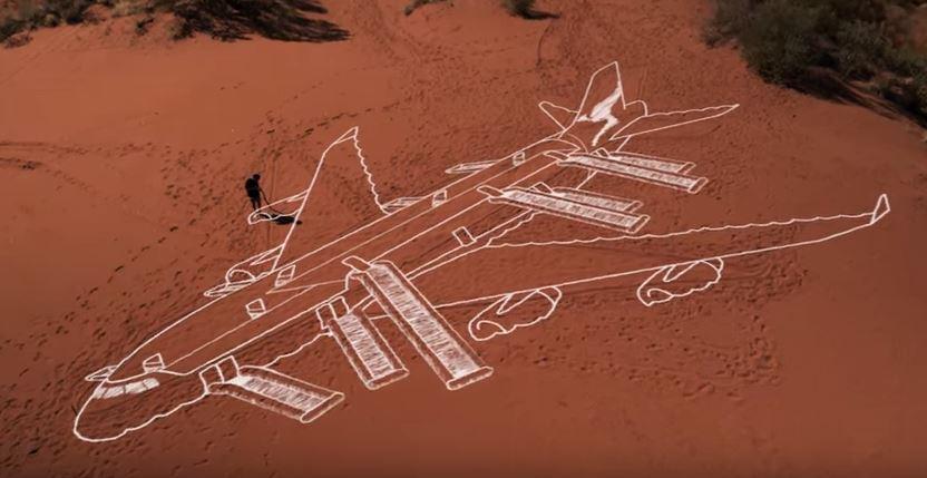 Video de seguridad de la linea aerea Qantas