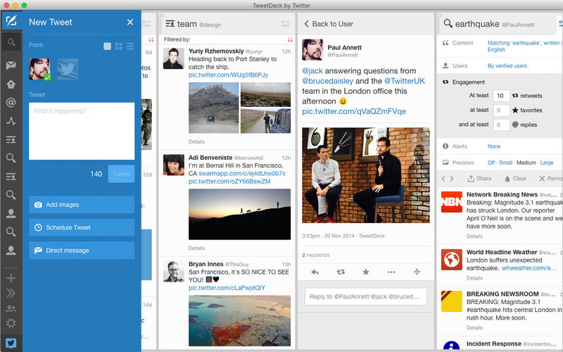 compartir cuentas de Twitter de 1 empresa