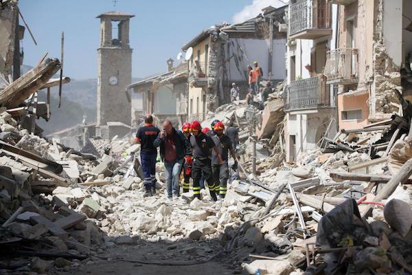 Cómo ayuda la tecnología tras el terremoto de Italia