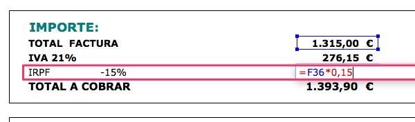 Excel IRPF