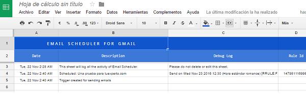 gmail mensajes programados