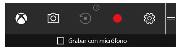 barra de juego windows 10
