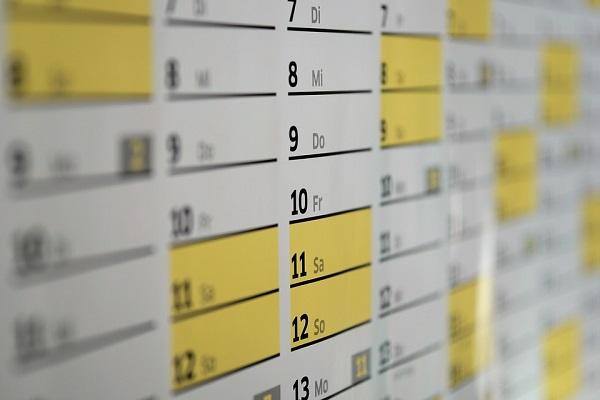 calendario vacaciones trabajo