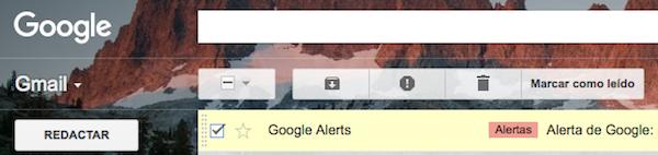 botón leído extensiones gmail