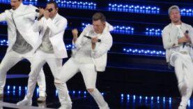 Presentación de los Backstreet Boys en el Festival de Viña del Mar 2019