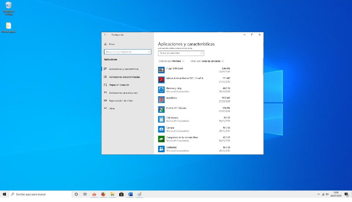 Como desinstalar las aplicaciones que vienen con Windows 10