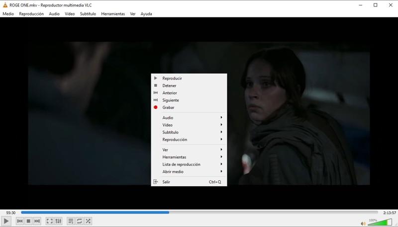 grabar video con VLC
