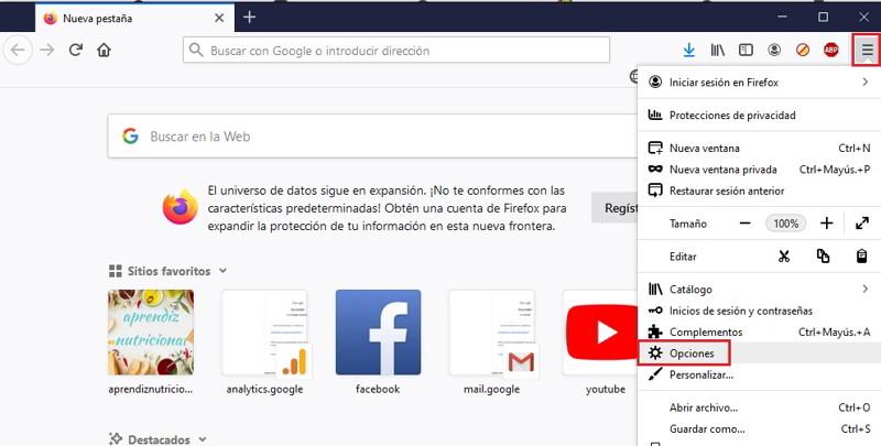 Busca la contraseña en tu navegador web 4