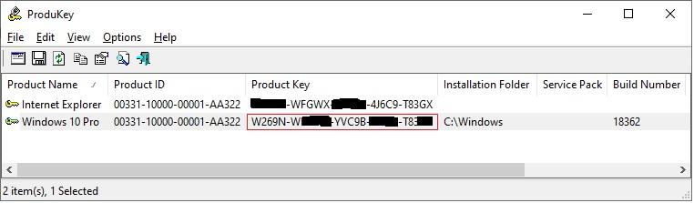 averiguar licencia windows 10
