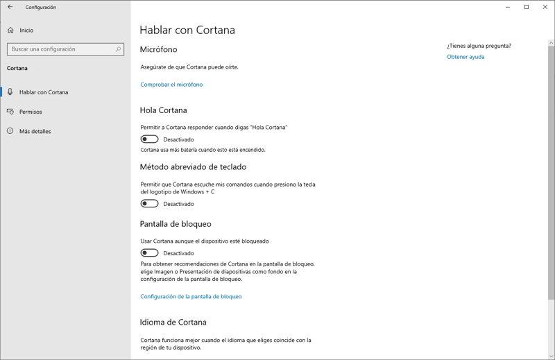 Así de fácil es quitar Cortana de la barra de tareas de Windows 10 2
