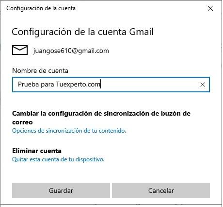 Cómo combinar Google Calendar con la app Calendario de Windows 10 7