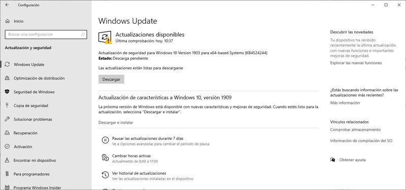 Actualiza Windows
