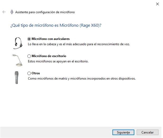 configurar y usar el reconocimiento de voz en Windows 10 3