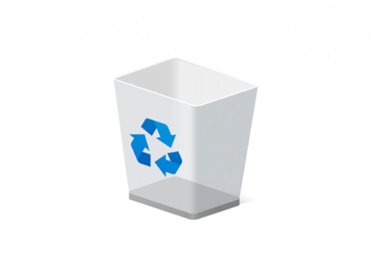 La papelera de reciclaje ha desaparecido, como solucionarlo