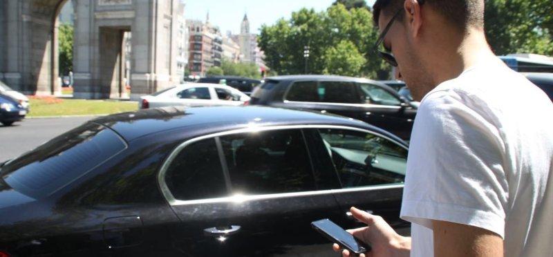 Elegir coche en cabify
