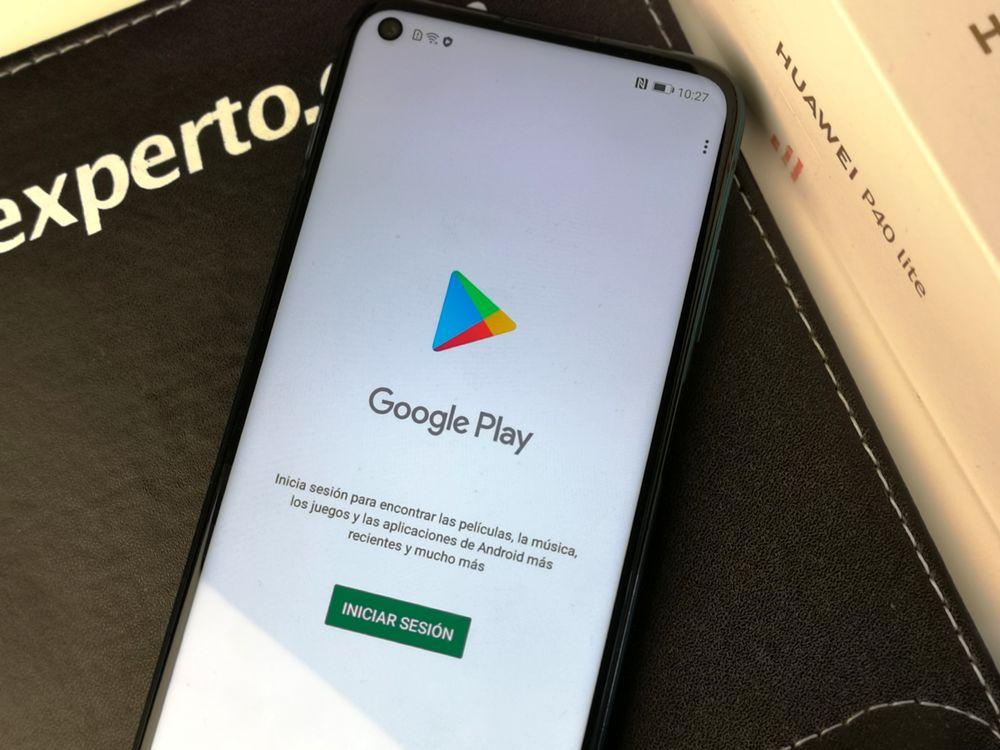 Google Play Store en Huawei P40 Lite