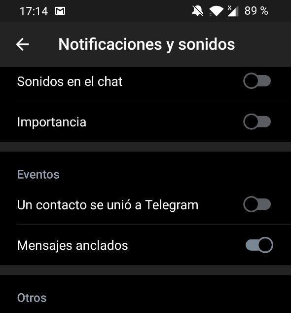 ajustes ocultos telegram 2