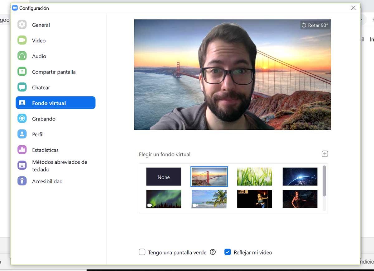 Cómo poner vídeos y fondos divertidos en tus videollamadas de Zoom