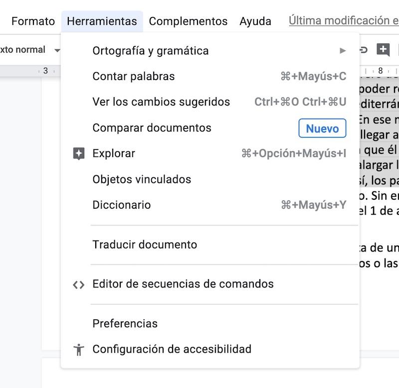 trucos google docs 2020 0