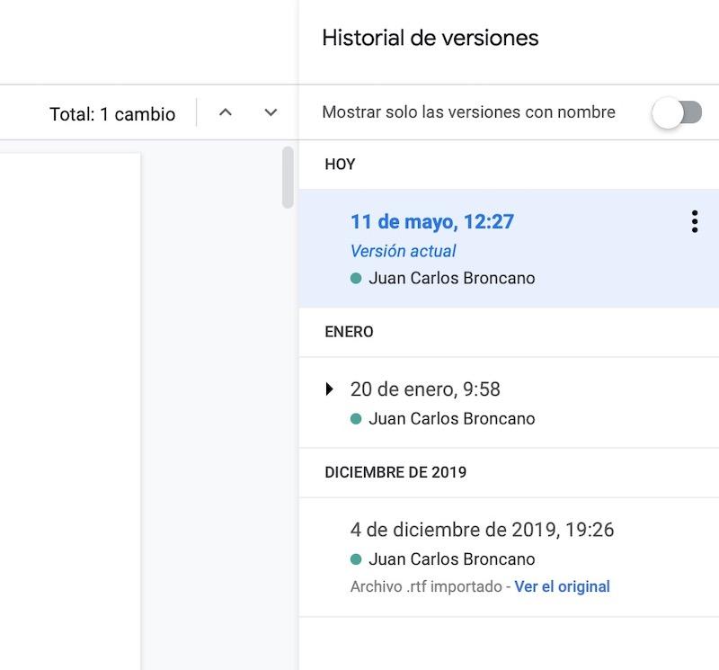 trucos google docs 2020 2