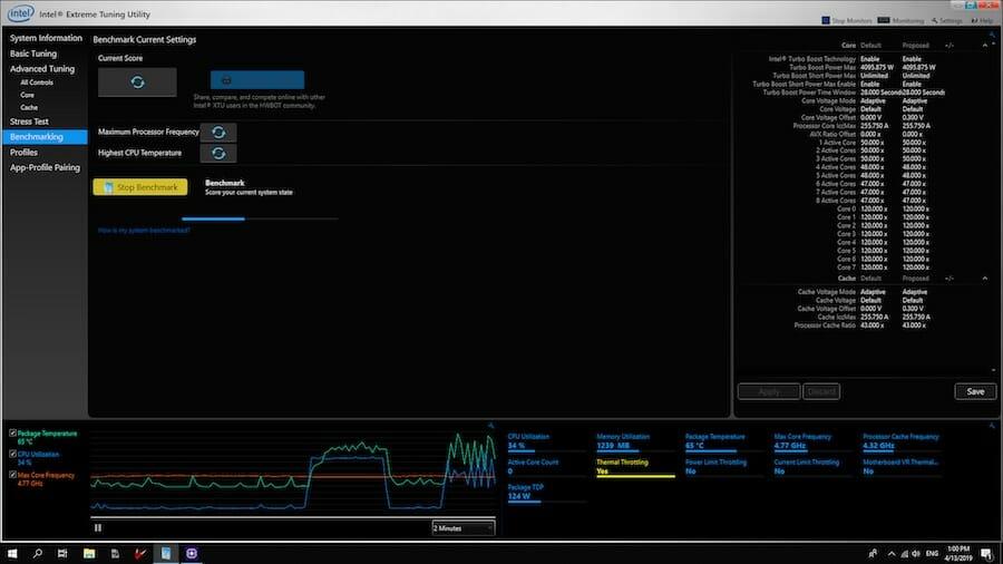 intel extreme tuning utility 2020