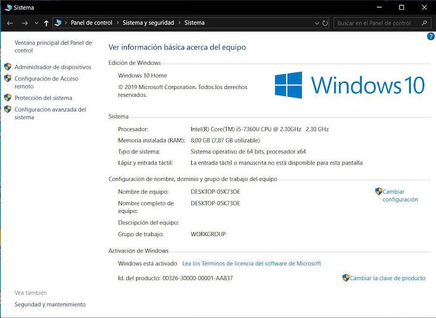 Cómo ver todas las especificaciones en un portátil Lenovo con Windows 10 1