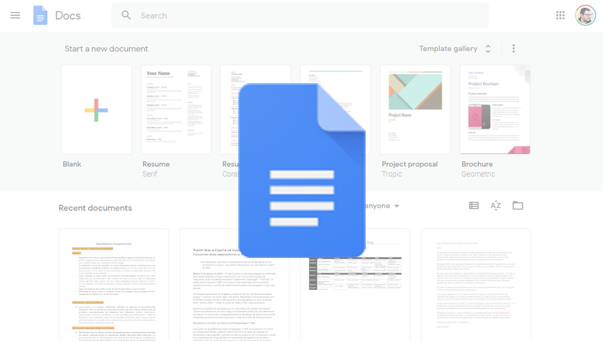 Cómo recuperar documentos que hayas eliminado en Google Docs
