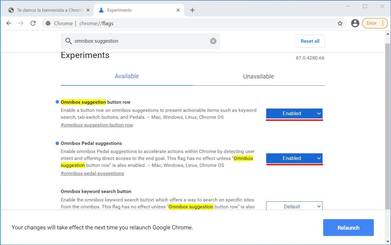 Qué son las acciones rápidas escondidas en Chrome y cómo activarlas 1