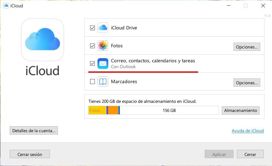 Cómo configurar el correo de iCloud en Windows