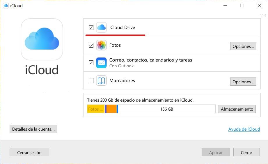 Cómo configurar iCloud en Windows 10 2