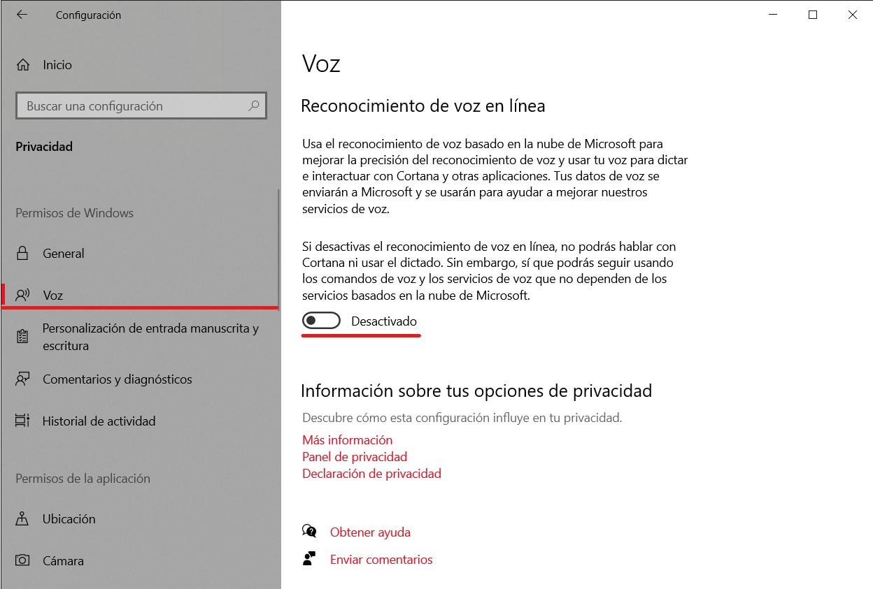 Cómo configurar los ajustes de privacidad en Windows 10 para que te espíen lo mínimo 1