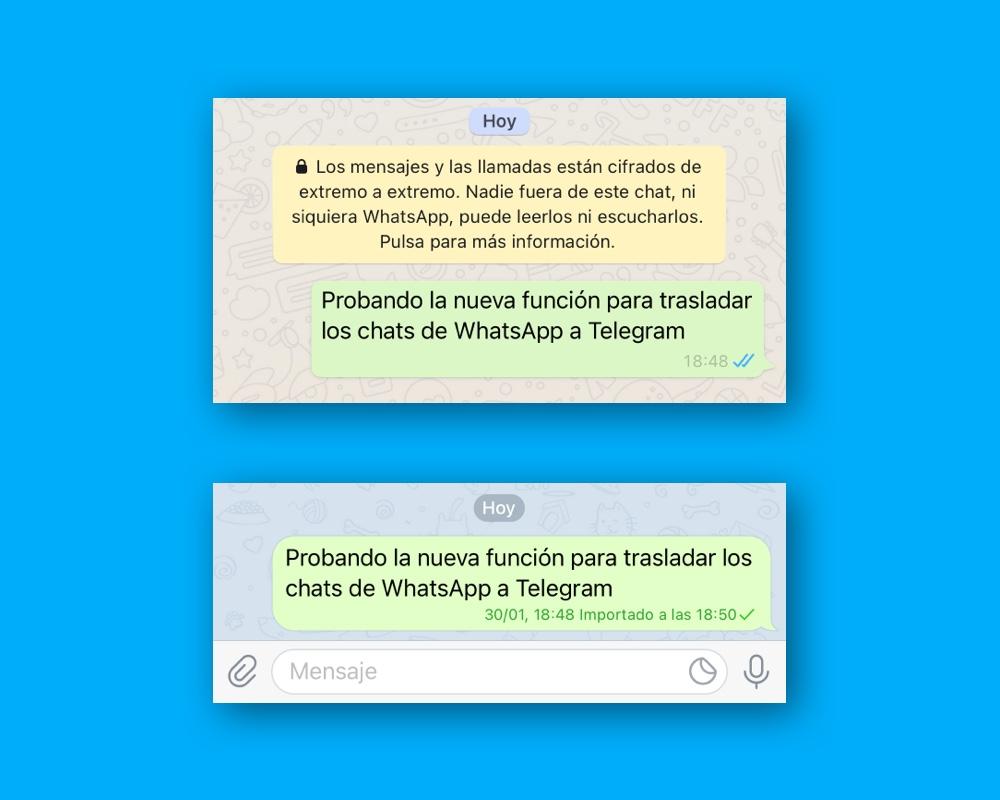 Cómo pasar los chats de WhatsApp a Telegram 3
