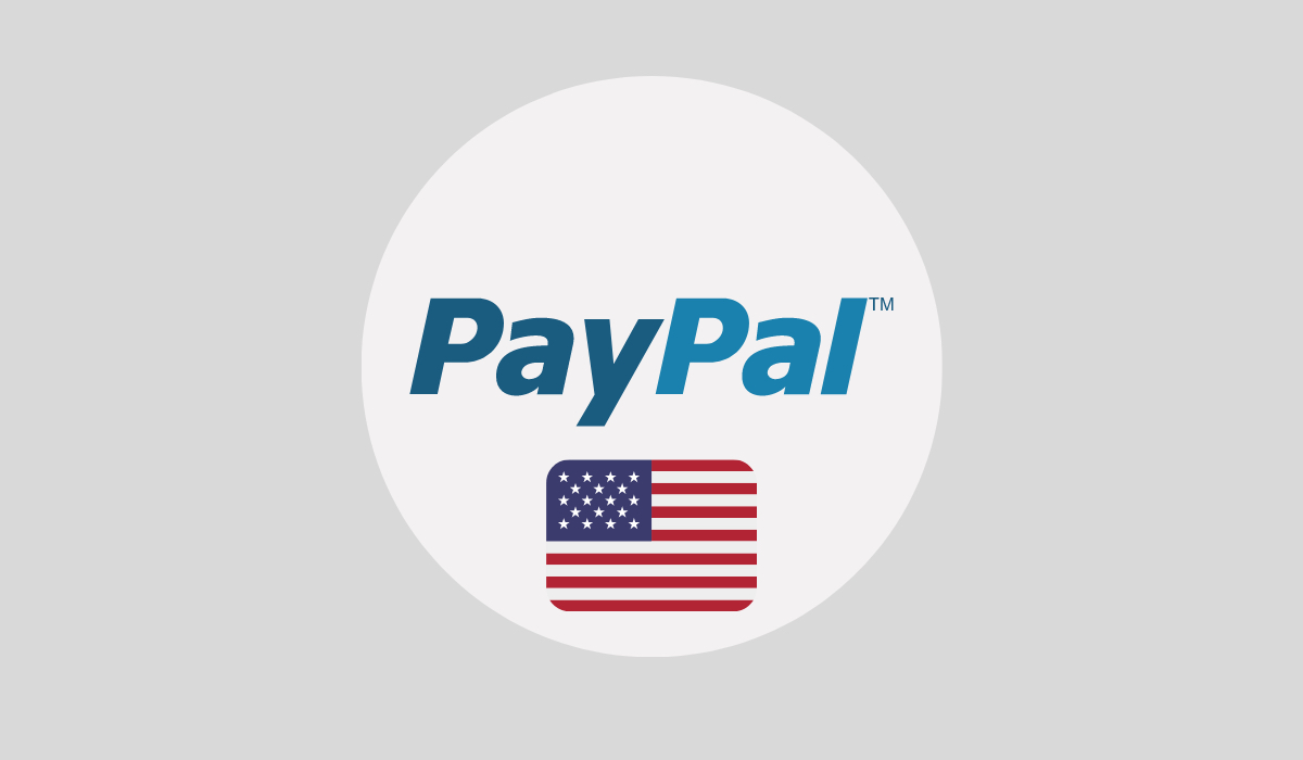 1 Cuenta PayPal en EEUU