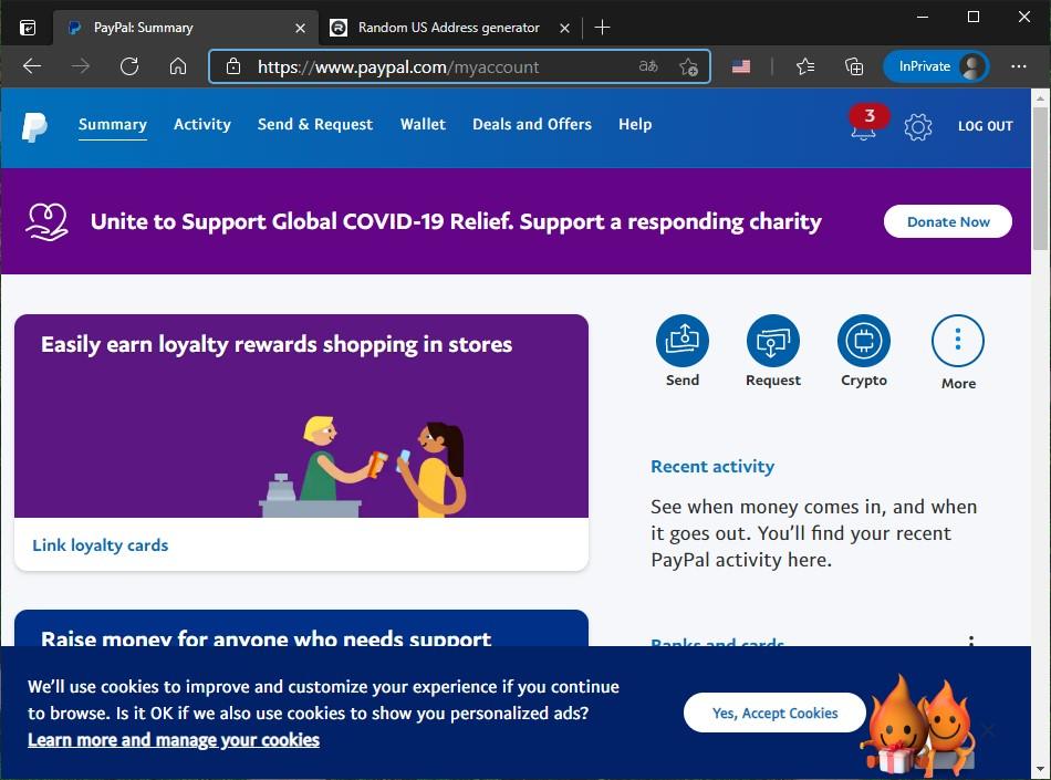 14 Cuenta estadounidense de PayPal creada