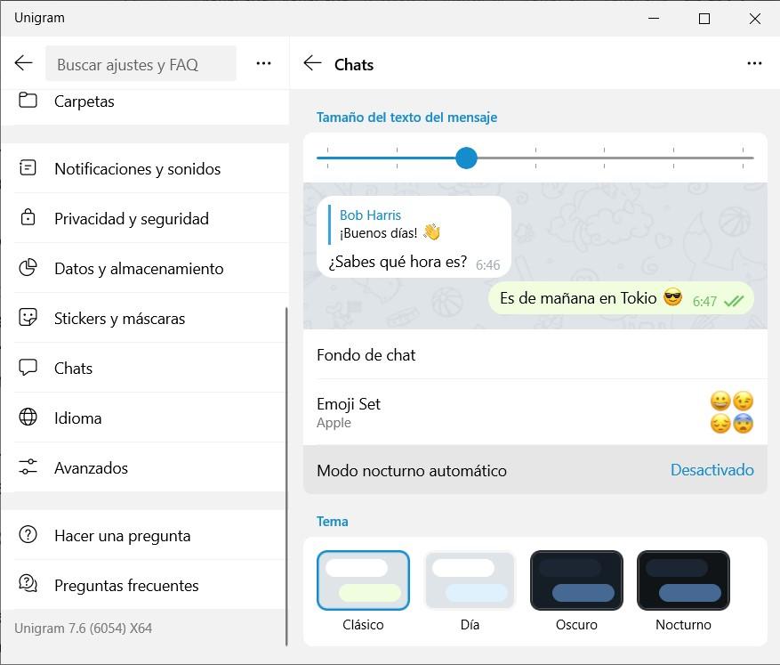 6 Personalización de Telegram