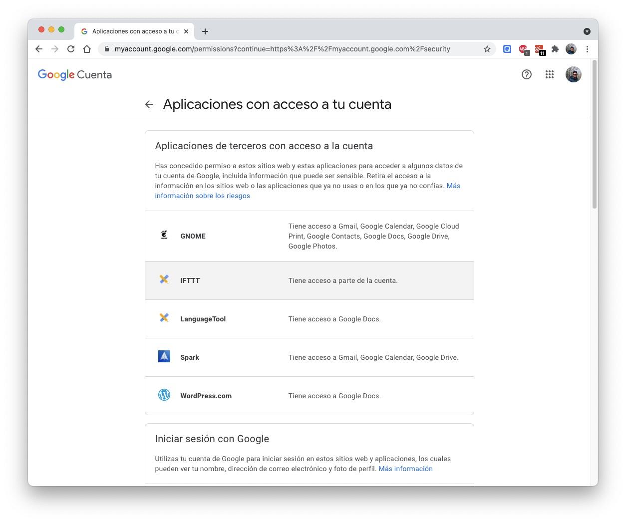 Cuenta de Google: ajustes imprescindibles para mejorar la seguridad 2