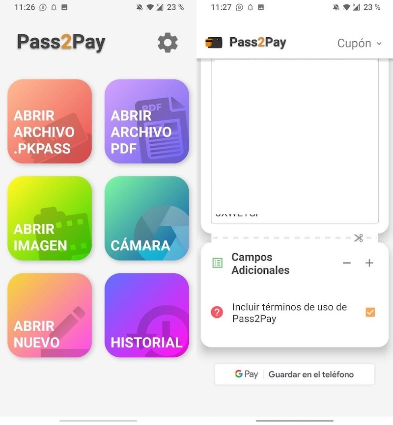 certificado covid android pay 0