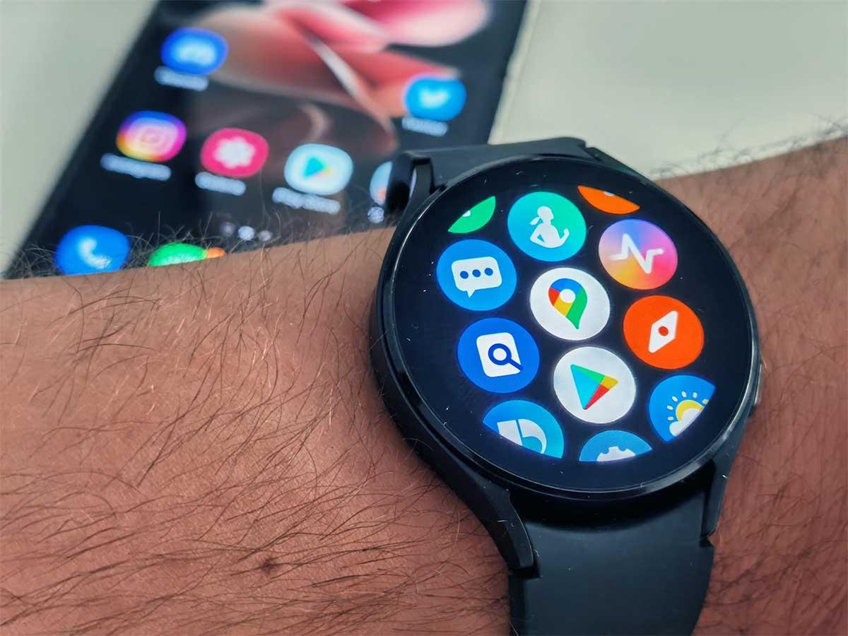 Samsung Galaxy Watch4 mapas